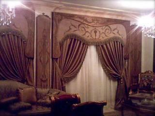 ستائر يدوي:  بلكونة أو شرفة تنفيذ روزادا مصرية, كلاسيكي