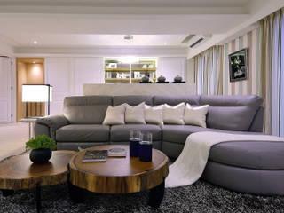 美式風格居家空間 根據 大觀創境空間設計事務所 隨意取材風