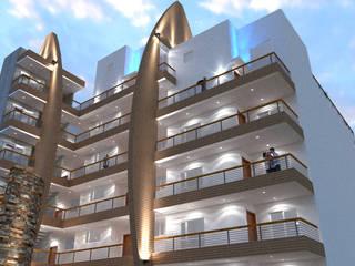 Terrace house by URBAO Arquitectos, Modern