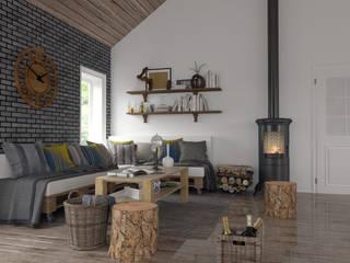 Artec Mimarlık Classic style living room