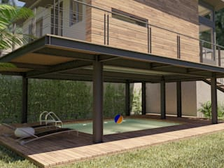 Bungalows by URBAO Arquitectos,