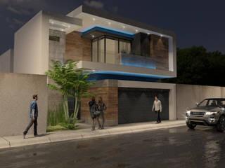 Casas unifamilares  por URBAO Arquitectos