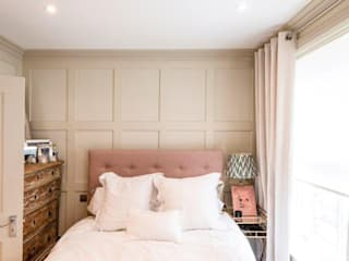 Knightbridge renovation:  Bedroom by Prestige Architects By Marco Braghiroli