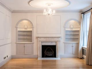 Knightsbridge Townhouse Salon classique par Prestige Architects By Marco Braghiroli Classique