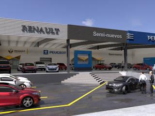 Car Dealerships by URBAO Arquitectos, Industrial