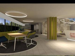 Uffici Assicurazioni Generali Complesso d'uffici moderni di Silvana Barbato Moderno