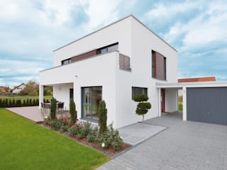 Kundenhaus U082 Moderne Häuser von TALBAU-Haus GmbH Modern