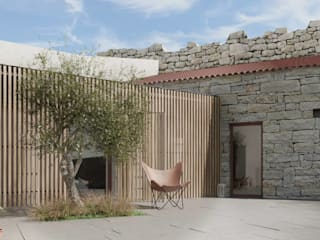 Rustic style house by David Bilo | Arquitecto Rustic