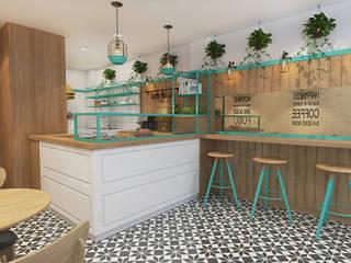Gülhane Kafe&Ev Yemekleri, Giresun (Tasarım aşaması) Damla Vurguncu İç Mimarlık Modern