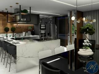 Moderne Küchen von ZM ARQUITETURA Modern