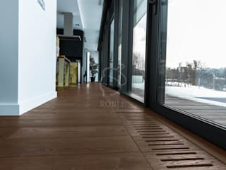 Roble Living room Solid Wood Brown