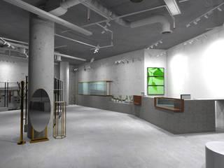 Fashionlink Senayan City (Collaboration with Rizki Nadia) Pusat Perbelanjaan Gaya Industrial Oleh Studié Industrial
