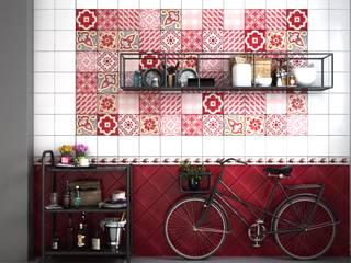 CERAMICHE MUSA Cocinas de estilo moderno