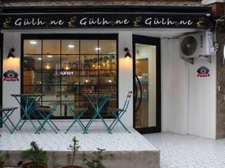 Damla Vurguncu İç Mimarlık – Gülhane Kafe&Ev Yemekleri, Giresun (Uygulama):  tarz Yeme & İçme