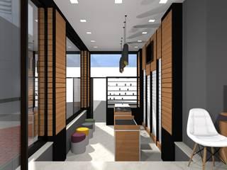 Damla Vurguncu İç Mimarlık – Türk İletişim, Giresun (Tasarım Aşaması):  tarz Dükkânlar