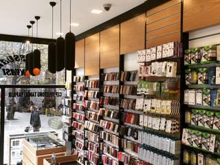 Damla Vurguncu İç Mimarlık – Türk İletişim, Giresun (Uygulama):  tarz Dükkânlar