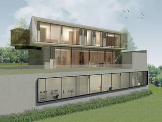 Rumah Linggau (Desain) Oleh KHK Construction