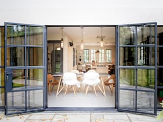 Woodstock Road IQ Glass UK Glass doors Iron/Steel Grey