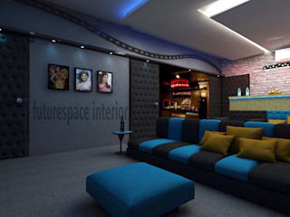 Living rooms and Entertainment centers Modern living room by Future Space Interior Modern