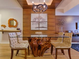 Sala de jantar:   por Bruna Schumacher - Arquitetura & Interiores