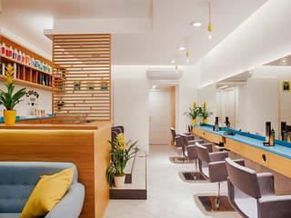manuarino architettura design comunicazione Offices & stores Quartz Multicolored