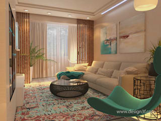 студия Design3F Salon minimaliste