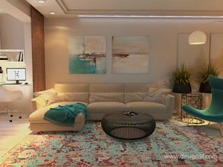 студия Design3F Living room