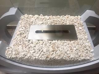 Chimenea Ecológica de bioetanol. Modelo: Trineo Pocket de ARTEFLAMA Moderno
