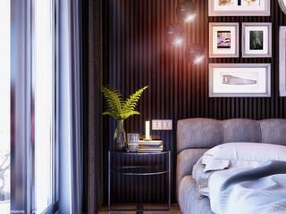 Cool Bedroom by VIZPIXEL STUDIO
