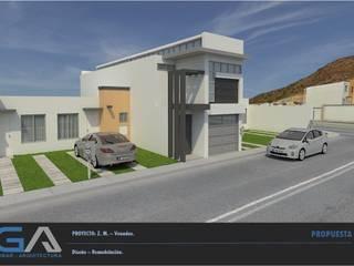 Z. M. - Hacienda Los Venados Casas modernas de Gomar Arquitectura Moderno