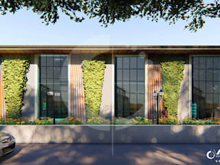 RHI Clasil Office, Commercial-Office Complex:   by Vasantha Architects and Interior Designers