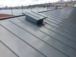 Beylerbeyi Sarayı Rheinzink Titanyum Çinko Kenet Çatı Kaplama Butik Çatı & Proje Danışmanlık Klasik Aluminyum/Çinko