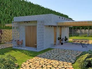 BANGALÔ NO PARAÍSO por Pedro Ivo Fernandes | Arquiteto e Urbanista Campestre