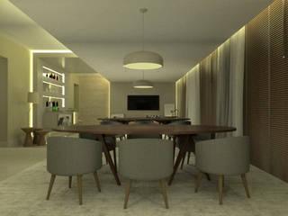 Modern living room by Pedro Ivo Fernandes | Arquiteto e Urbanista Modern