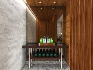 現代風玄關、走廊與階梯 根據 Pedro Ivo Fernandes | Arquiteto e Urbanista 現代風