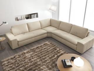 Decordesign Interiores Living roomSofas & armchairs Textile Beige