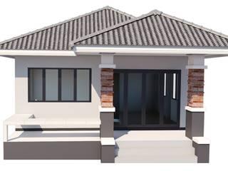 บริษัท เรืองสุวรรณเฮ้าส์ จำกัด Rumah kecil Beton