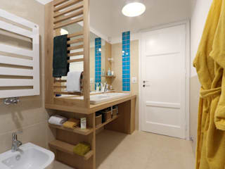 Daniele Arcomano Modern bathroom Wood