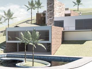 Casa abelardo, las pilas jamundi: Casas de estilo  por Am arquitectura, Minimalista