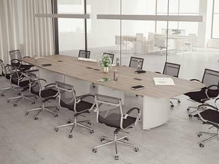 Mobiliario Vivant Estudios y despachos modernos de GREAT+MINI Moderno