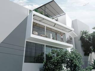 Casas de estilo  por Am arquitectura