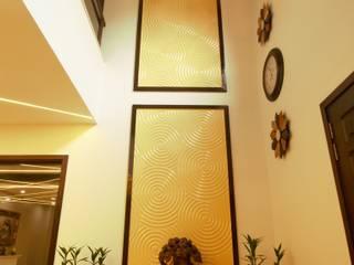 Kalatmak Space Eclectic style corridor, hallway & stairs MDF Yellow