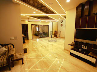 Kalatmak Space Eclectic style corridor, hallway & stairs Wood Brown