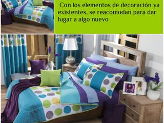 Asesoría en decoración 1 Dormitorios modernos de LM Decoración y diseño de interiores Moderno