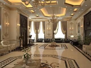 مجلس رجال :  غرفة المعيشة تنفيذ Archroom, كلاسيكي