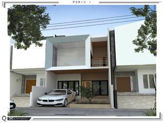 rumah poris  (tangerang): Rumah oleh qic arsitek, Minimalis