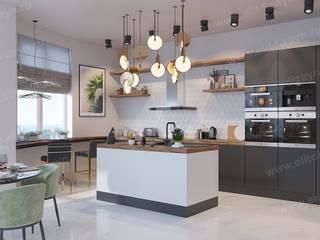 Неоклассика Кухня в классическом стиле от ED - Architect & design STUDIO Классический