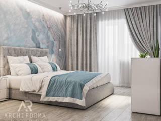 Спальня Снежной Королевы: Спальни в . Автор – Архиформа