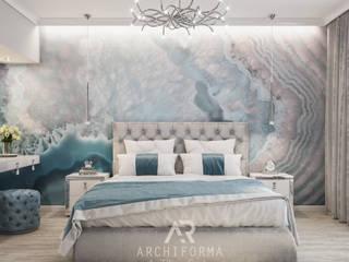 Дом Снежной Королевы: Спальни в . Автор – Архиформа