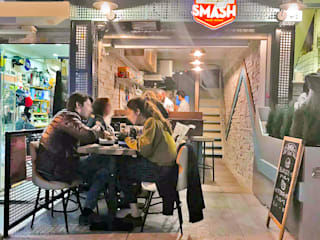 SMASH FOOD WORKS MAHAL MİMARLIK Rustik
